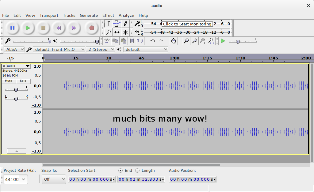 Audacity's Equalizer to get a highly customizable  low-pass