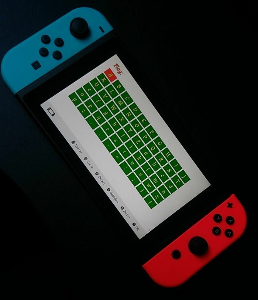 PlayCAP running on a real Switch